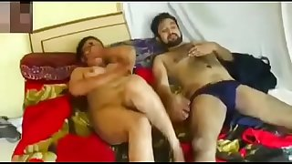 Indian new married bhabhi fuck with stronger